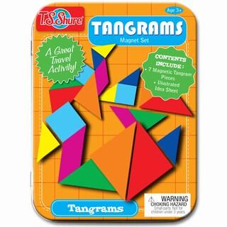 T.S. Shure Tangrams Magnet Set Mini Tin