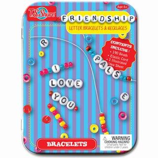 Friendship Letter Bracelets and Necklaces Mini Tin