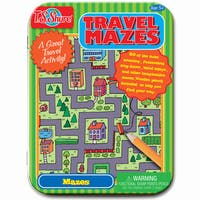 T.S. Shure Travel Mazes Creative Activity Mini Tin