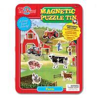 T.S. Shure Farm Magnetic Tin Play Set