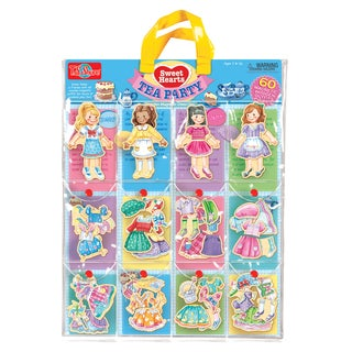 Sweets Hearts Tea Party Wooden Magnetic Dress-Up Dolls