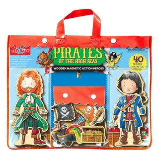 Pirates of the High Seas Wooden Magnetic Action Heroes