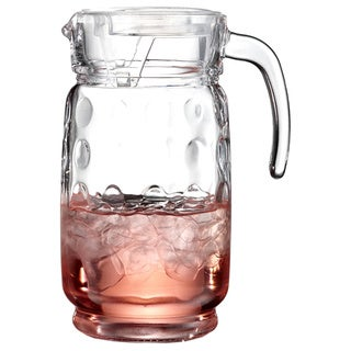Style Setter Soho Provence Glass 64-ounce Pitcher With Clear Lid