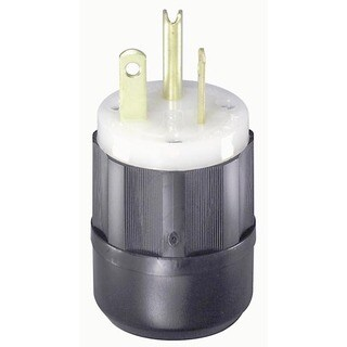 Leviton 061-5366-C Industrial Grade Straight Blade Plug