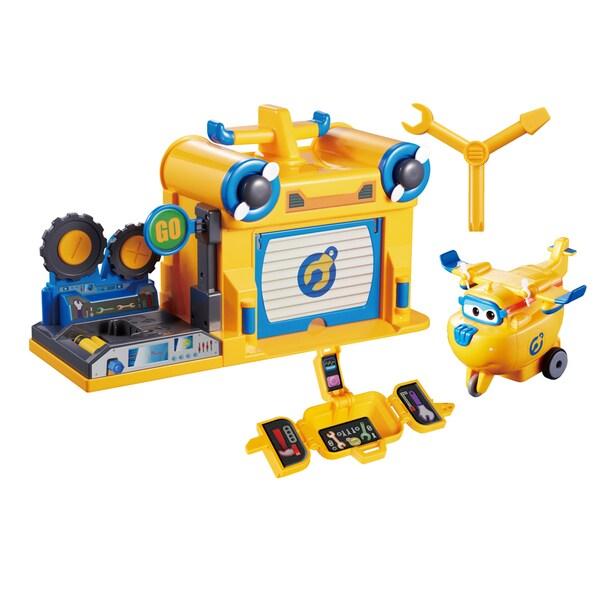 Auldey Toys Super Wings Donnie's Workshop
