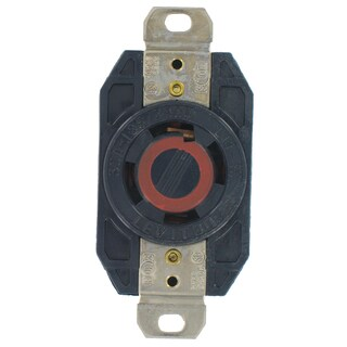 Leviton 065-2710-0 30A 125/250V Ind Grade Flush Mount Locking Receptacle Device