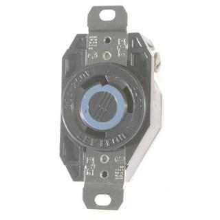 Leviton 065-2620 30A 250V Ind Grade Flush Mount Locking Receptacle Device