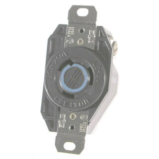 Leviton 065-2320 20A 250V Ind Grade Flush Mount Locking Receptacle Device
