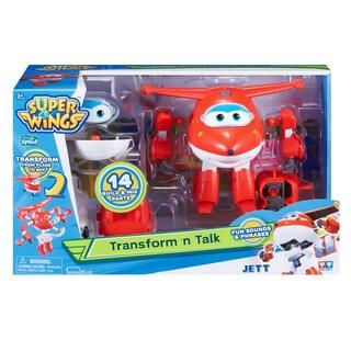 Auldey Toys Super Wings Transform 'n Talk Jett