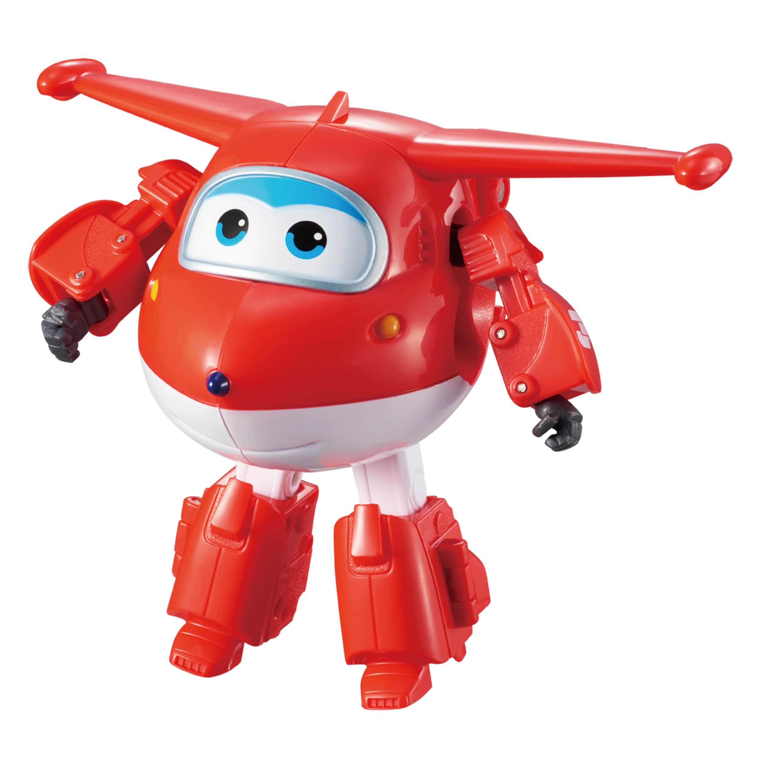 AUDLEY Toys Super Wings Transforming Character Jett (1), Red