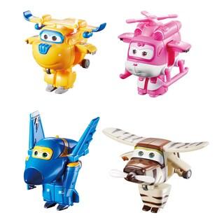Donnie, Dizzy, Jerome, and Bello Transform-a-Bots set