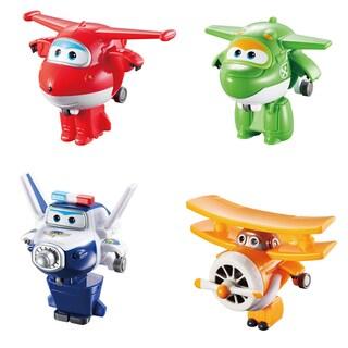 Jett, Mira, Paul, and Grand Albert Transform-a-Bots set