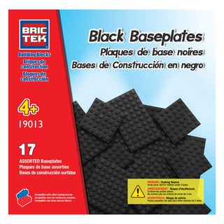 Brictek 17 Black Assorted Baseplates