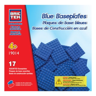 Brictek 17 Blue Assorted Baseplates