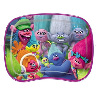 Trolls Kids Snack and Play Tray