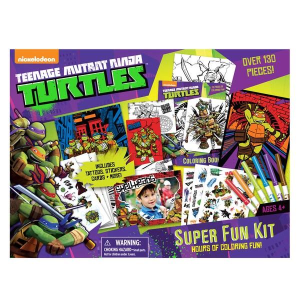 Cra-Z-Art Teen Age Mutant Ninja Turtles Super Fun Kit