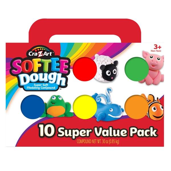 Cra-Z-Art Softee Dough 10 pack
