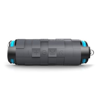 Tmvel Aquamasti Rugged Wireless Bluetooth 4.0 Shockproof/ Water Resistant Speakers with Power Bank