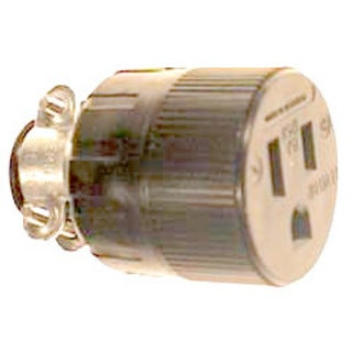 Leviton 001-617 Residential Grade Straight Blade Connector