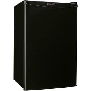 Danby 4.4 cu. ft. Designer Energy Star Black Compact Refrigerator/ Freezer