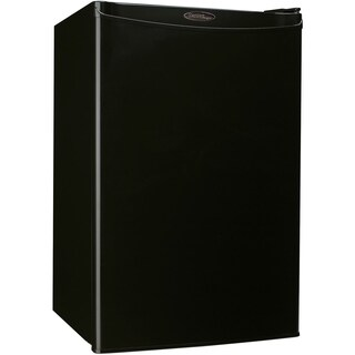 Danby 4.4 cu. ft. Designer Energy Star Black Compact Refrigerator/ Freezer