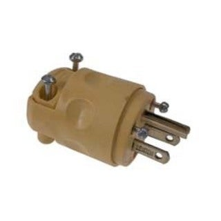 Leviton 000-515PV 15 Amp Grounded Commercial Grade Straight Blade Plug
