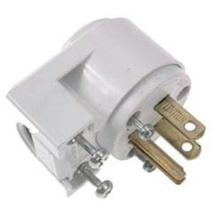 Leviton 000-515AN Commercial Grade Straight Blade Angle Plugs