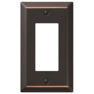 Amertac 163RDB 1 Rocker Aged Bronze Traditional Steel Wallplate|https://ak1.ostkcdn.com/images/products/11953798/P18840146.jpg?impolicy=medium