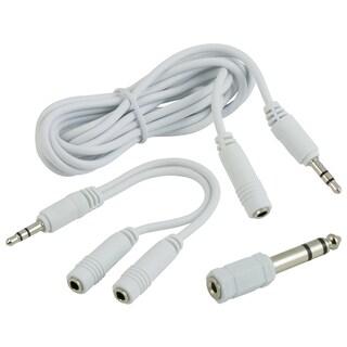 GE Lighting 97702 6' Headphone Adapter Kit