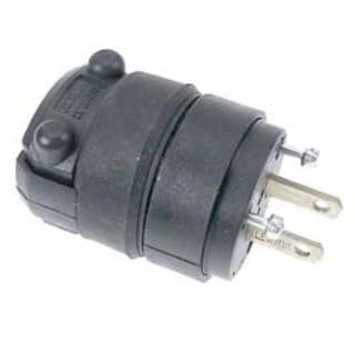 Leviton 000-115PR Residential Grade Straight Blade Non-Polarized Plug
