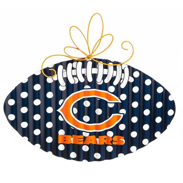 Chicago Bears Multicolor Metal Wall Decor