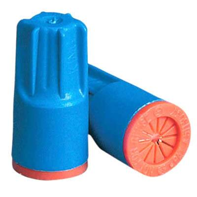 King Safety Products 62125 Aqua & Orange AWG 22 To12 Waterproof Wire Connector