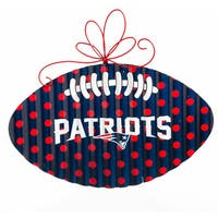 New England Patriots Red, White and Blue Metal Wall Decor