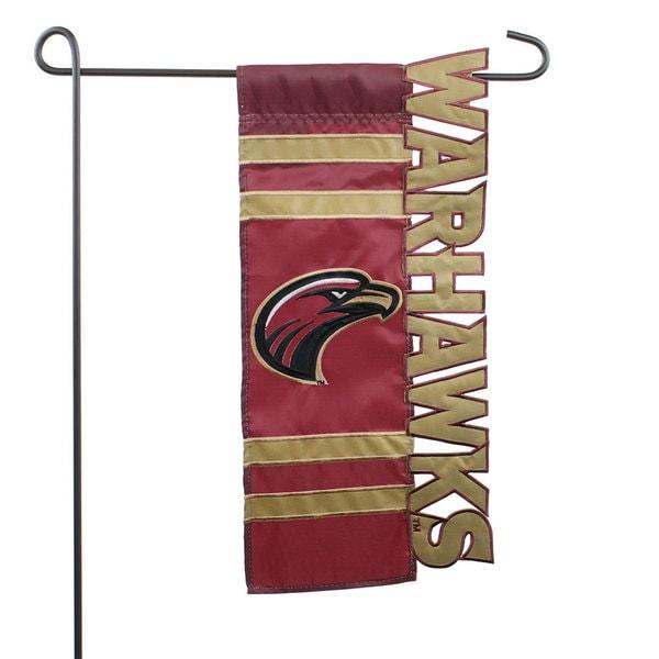 University of Louisiana-Monroe Applique Sculpted Flag