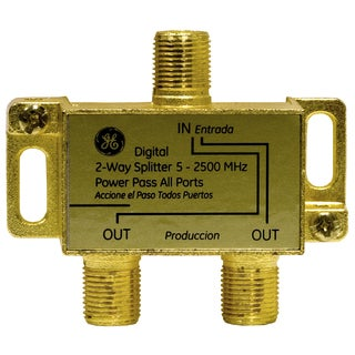 GE Lighting 87623 2-Way Digital Signal Splitter