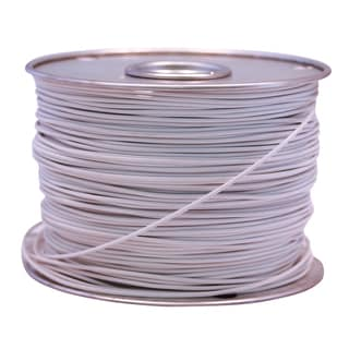 Southwire 55671923 100' X 10 Gauge White GPT Primary Wire Cable Principal