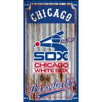 Boston Red Sox Corrugated Metal Wall Art