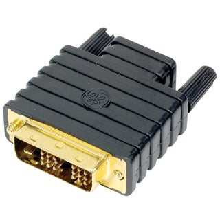 GE Jasco 22701 Black DVI To HDMI Adapter