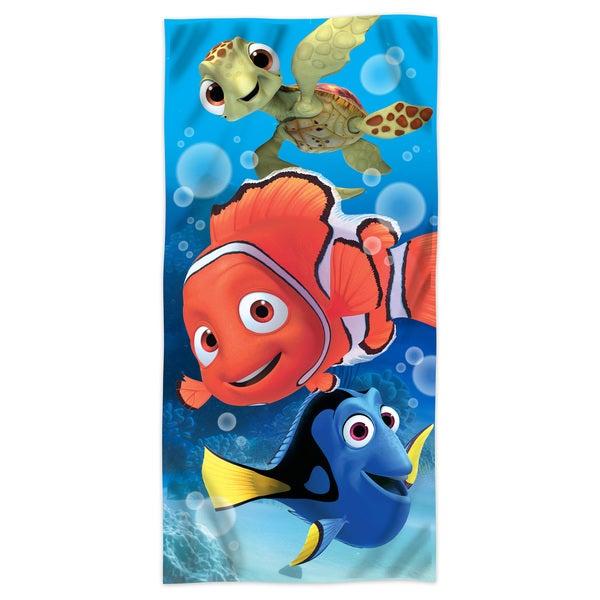 Shop Finding Nemo Sea Life Beach Towel Free Shipping On Orders