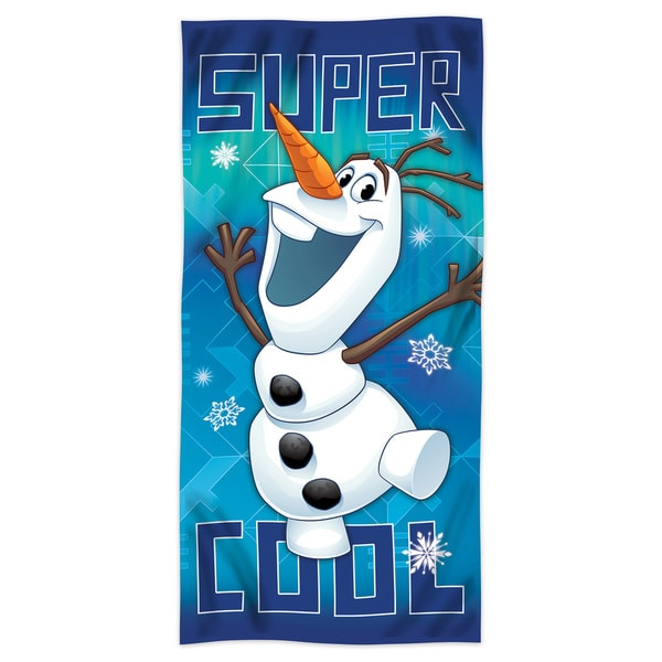 "Frozen """"Super Cool Olaf"""" Beach Towel"