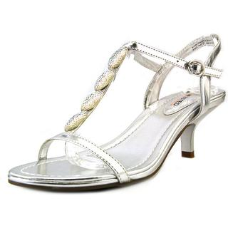 Unlisted Kenneth Cole Women's 'Kinda Happy' Silver Synthetic Sandals