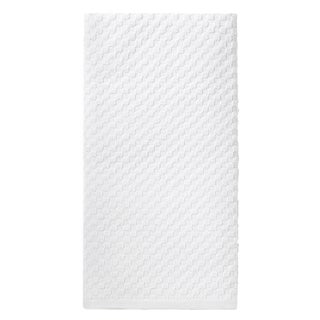 Celebration White Cotton 12-piece Kitchen Towel Set