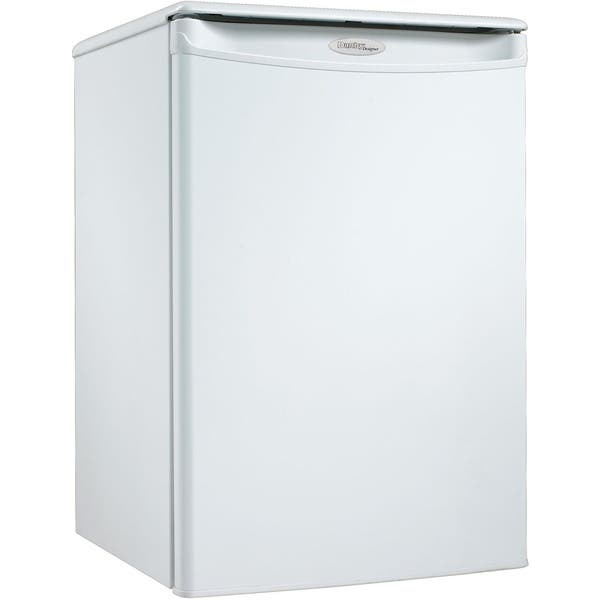 Shop Danby Dar026a1wdd White 2 6 Cubic Foot Designer Energy Star Compact All Refrigerator Overstock 11954008