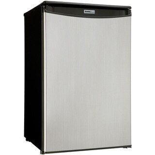 Danby DAR044A5BSLDD 4.4-cubic foot Designer Energy Star Compact All Refrigerator With Spotless Steel Door