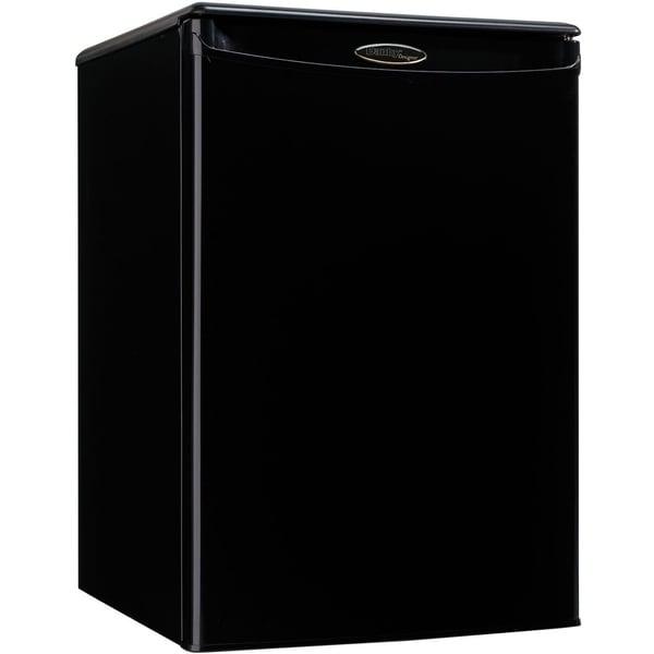 Danby DAR026A1BDD Black 2.6-cubic foot Designer Energy Star Compact All Refrigerator. Opens flyout.