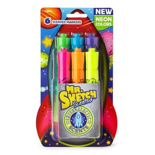 Mr. Sketch Intergalactic Neonisel-tip Scented Markers