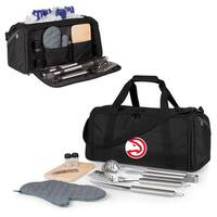 Picnic Time Atlanta Hawks BBQ Kit Cooler - Black
