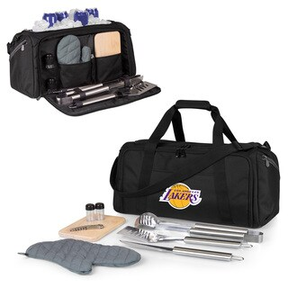 Picnic Time Los Angeles Lakers BBQ Kit Cooler