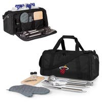 Picnic Time Miami Heat BBQ Kit Cooler - Black