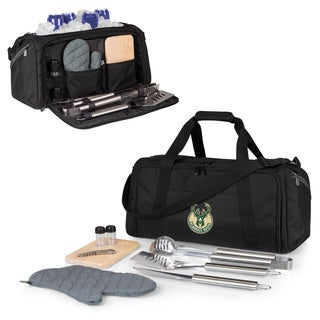 Picnic Time Milwaukee Bucks BBQ Kit Cooler